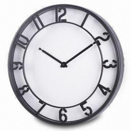 Plastic Wall Clock w...