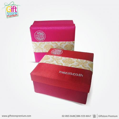 Made to order silk box packaging