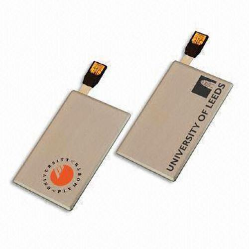 USB Flash Drive Card Shape